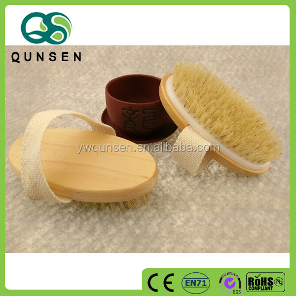 High quality bulk wooden custom hair brush