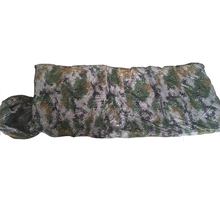 military camo sleeping bag
