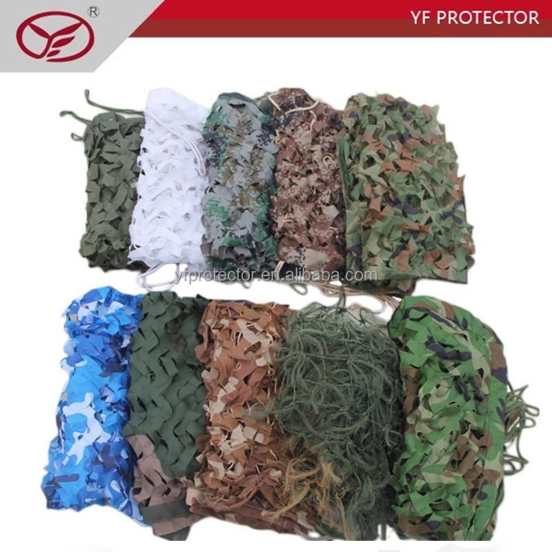 Military hunting camo net for outdoor mission