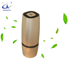 Portable Mini Battery Operated Car Air Purifier Formaldehyde Odor Somke Air Freshener for Car Use