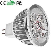 Energy Saving Led Bulbs 4W 4xCree 4*1W Lamp Light Dimmable MR16 12V Led Spot Light Spotlight Led Bulb Lights