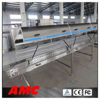Polyurethane Hoods Top10 sweet potato grinder Cooling tunnel Equipment