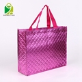 Custom cheap PP laminated gift tote non woven shopping bag