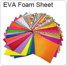 2014 brand new EVA foam sheet with cloth textured eva fabric