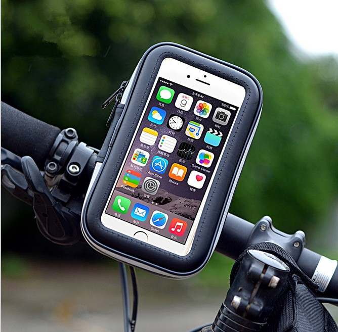 road mountain cycling travel sport bicycle touch screen mobile phone hold bike bag