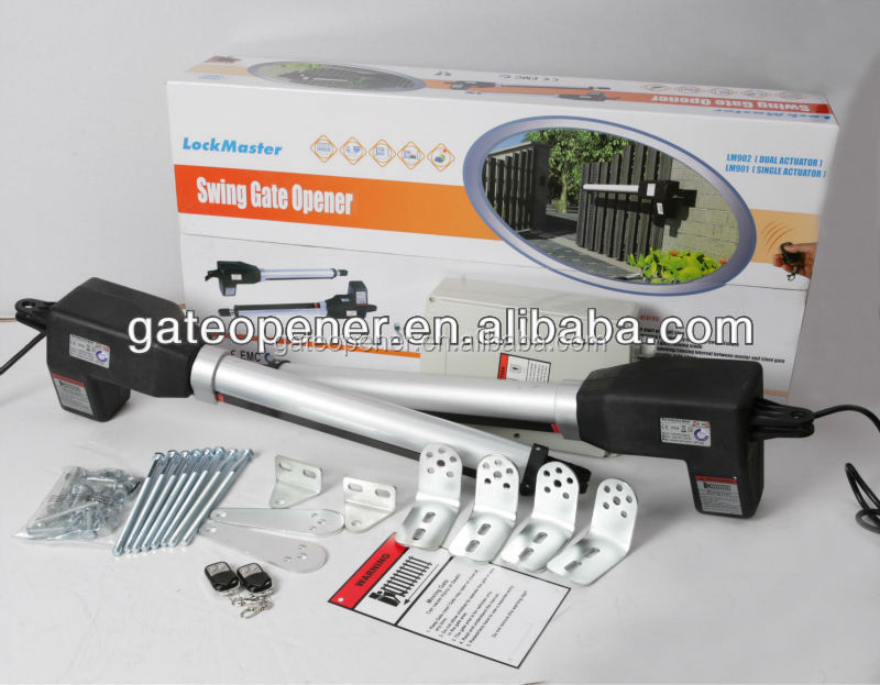 Automatic swing gate opener lock master buy