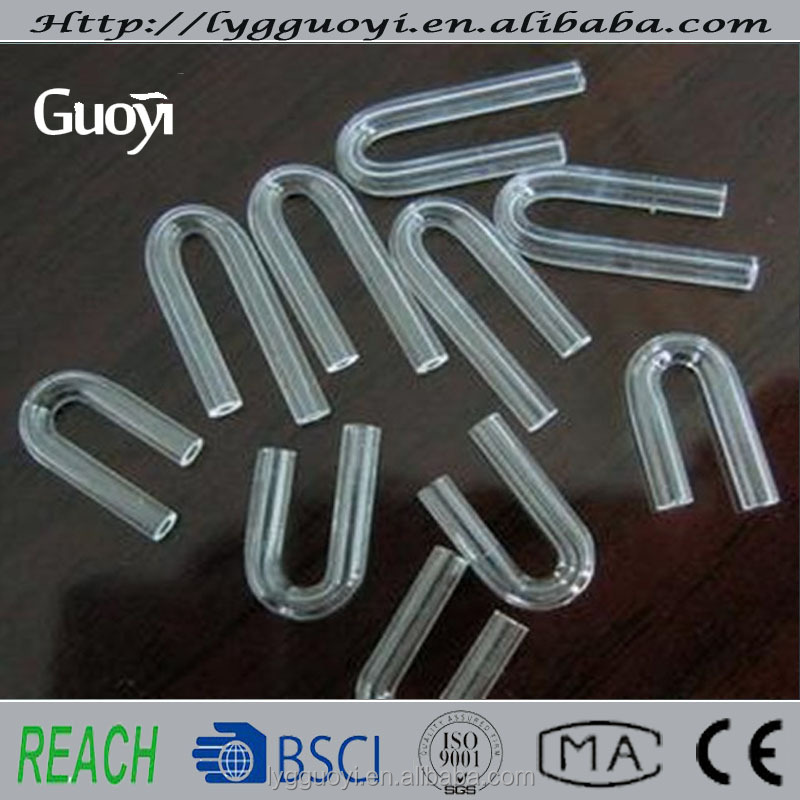 Top grade Cheapest u quartz tube size