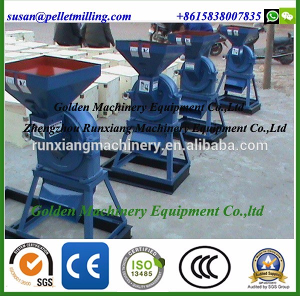 Small commercial Capacity Cron grits grinder/ Maize grain crushing machine/ Corn grinding disk mill