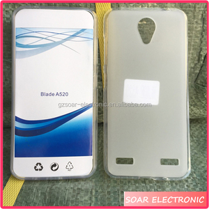 [Soar]New Coming Model Pudding TPU Back Cover Case For ZTE Blade A520, Gel Silicone Case For ZTE Blade A520
