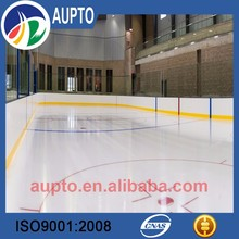 UHMW PE synthetic ice skating rink hockey boards with 100% new material
