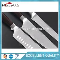 Hot selling best kitchen knife set with block with low price