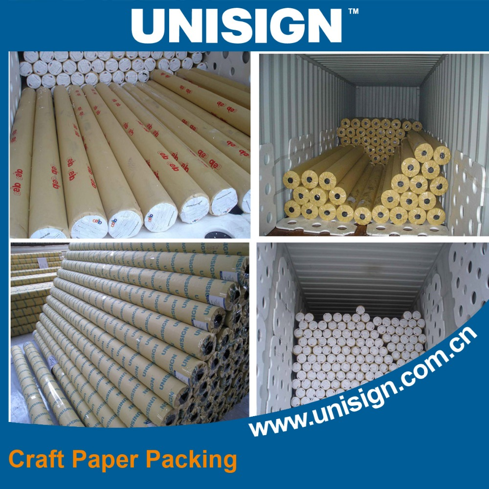 Unisign Hot cold Laminated Frontlit Banner Material
