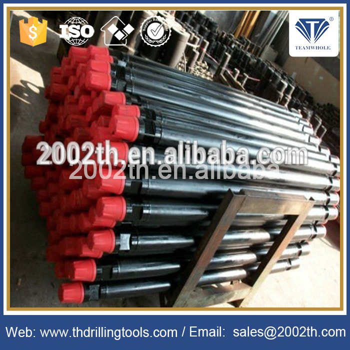"2 7/8"" API Reg DTH Drill Pipe(Rod)Tube with Wrench Flat for DTH Drilling"