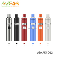 Fashionable design 6 Colors 2ml Joyetech eGo AIO D22 Start Kit & Joyetech eGo AIO D16 Kit