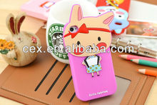 For iPhone 4 4s High Quality Cute Animal Forest Band Soft Silicone Case