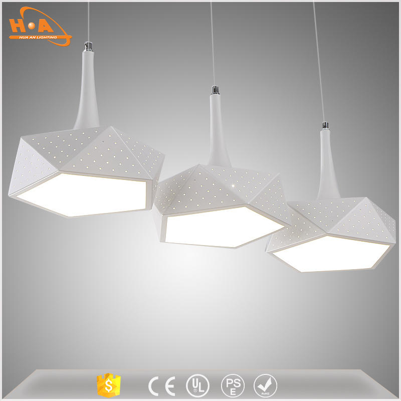 kitchen hanging lamp aluminum chandelier fancy led lights