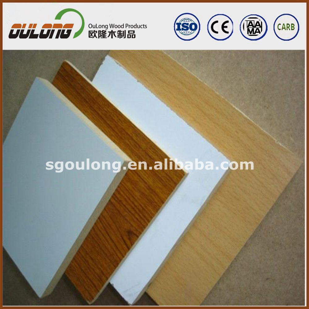 Melamine board/Melamine faced MDF from China