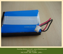 Hot sale 6842113 lithium polymer 3.7v 3600mah battery for tablet pc