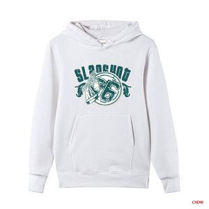Cheap Custom Plain White Hoody Sports Hoodies