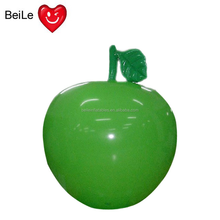 Advertising 2m Dia giant inflatable green apple model