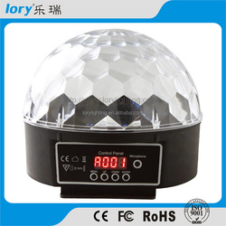 6 color magic ball / crystal led stage light for party light disco light led crystal ball