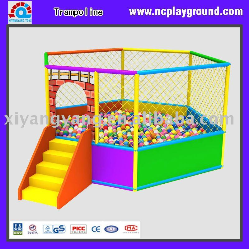 Jumping Bed With Safety Net