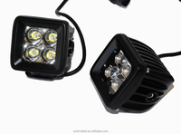"Pods Spot 20w Osram Led Trail lights motorcycle fog lamp atv 3''*3"" LED Cube/ Pod offroad led work light"