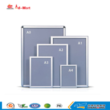 aluminum A0-A4 photo frame design/illuminated poster frame for export