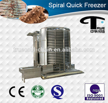 Double Drum Spiral type iqf freezeing tunnels freezer