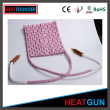Post welding heat treatment electric flexible cp10 ceramic pad heater