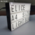 ELICE-A41 Feel Conbinetion card LED word light box function include light up/decration