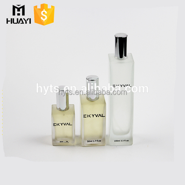 wholesale 30ml 50ml 100ml various size frosted glass perfume spray bottle