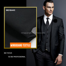 2018 summer polyester wool formal business suiting fabric