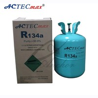 ACTECmax r134a refrigerant gas with more than 99.9% Purity r134a refrigerant