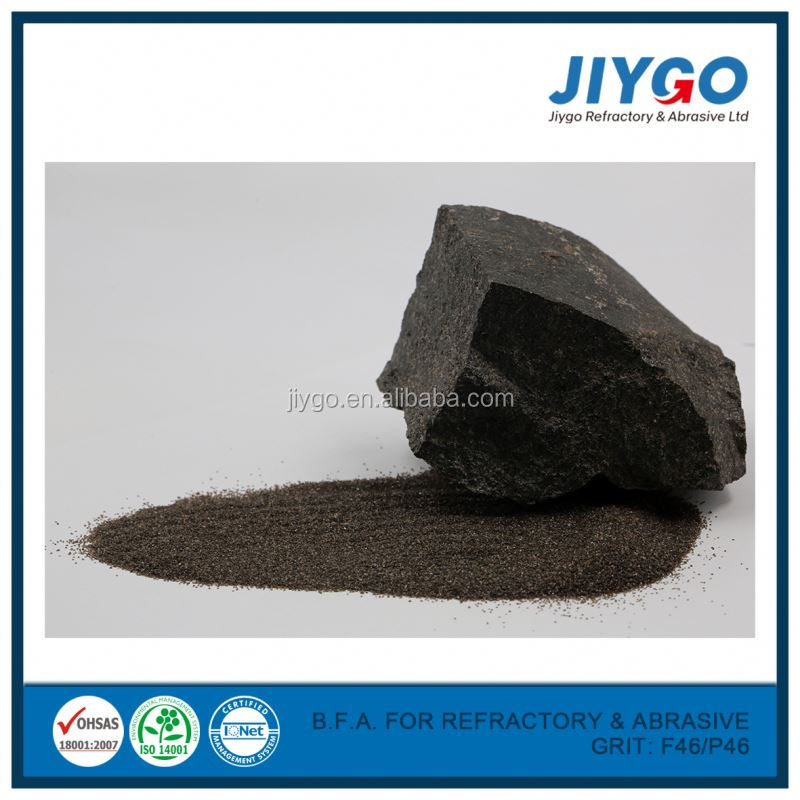 DYAN High quality factory price brown natural corundum/Brown Fused Alumina For Abrasives & Refractory