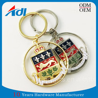 2017New Design Promotional Custom Metal Keychains
