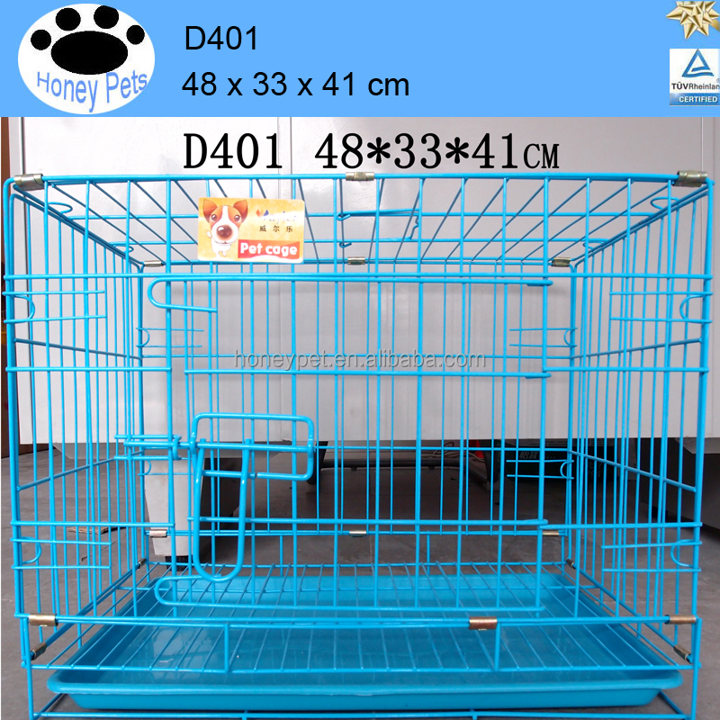 Export to USA and Europe top sale quality cheap wire mesh large alu dog cage