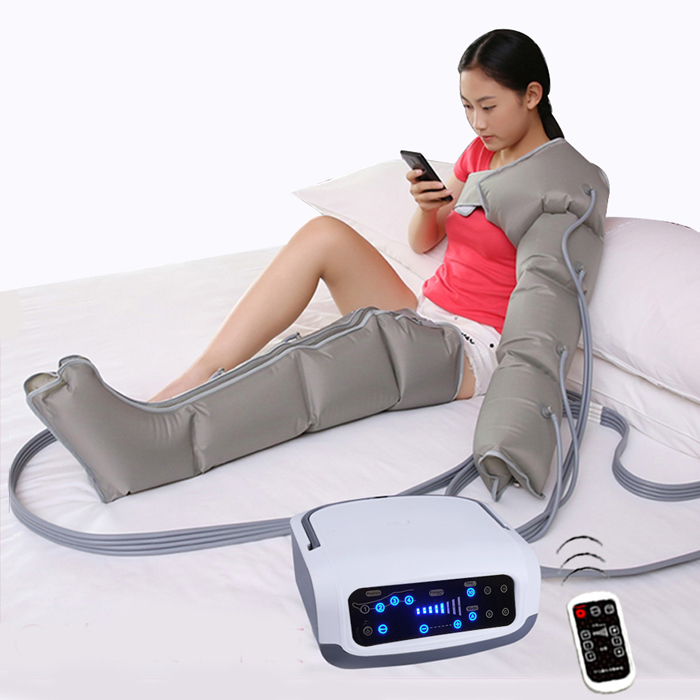 Sequential Air Compression Leg <strong>Massager</strong>/Blood & Lymphatic Circulation Therapy System /Recovery Boots Recovery Pump