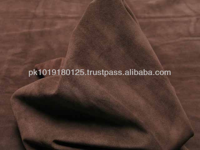 Genuine Suede Leather Cow Hide