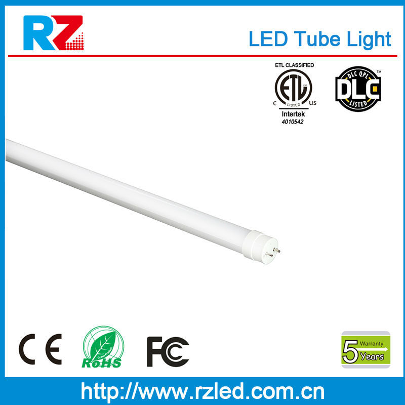 2015 T5 LED Tube SMD Chip UL ETL Approved red tube cartoon