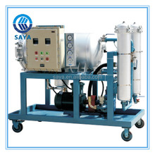 Oil purifier filter water dielectric oil filter machine LYC-100J