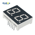 Excellent quality and long life dual digit red color common anode LED seven segment display