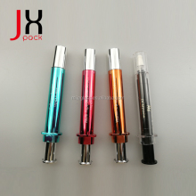 Factory High Quality 10ml Cosmetic Airless Syringe Packaging Skincare Syringe