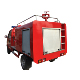 quick extinguishing emergency rescue fire service engine 4 wheel small fore fighting truck with water tank for factory selling