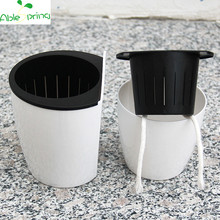 Wall hanging Automatic water-absorbing plastic flower pots