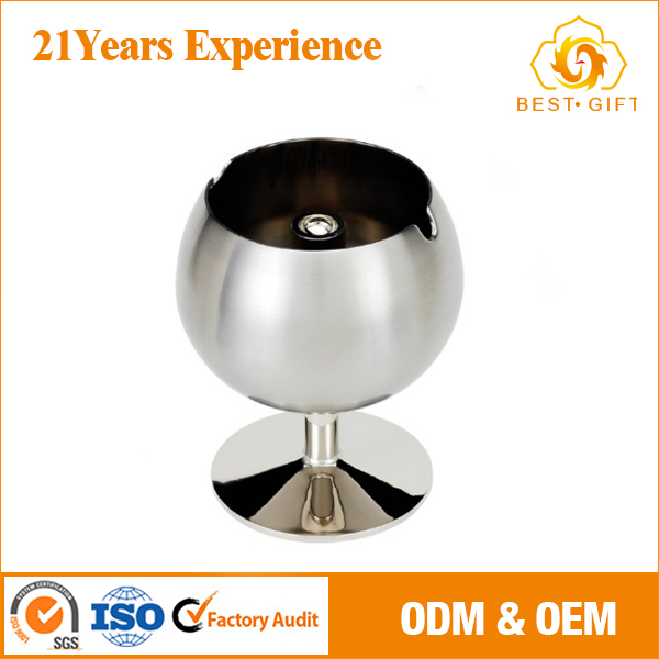 Stainless steel windproof special metal ashtrays