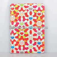 FL2815 2013 Guangzhou hot selling sunflower wallet leather flip case for ipad mini