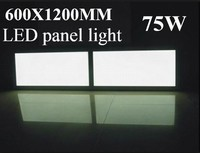 Ultra thin led panel light 1-10V dimmable high CRI 600x1200 led panel light 5 years warranty