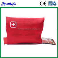ECO friendly road trip car first aid kit for medical device CE approved