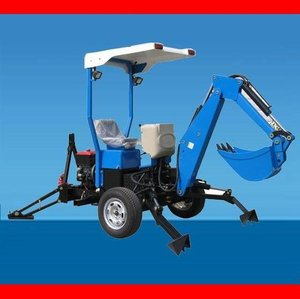FMTB-001 towable backhoe